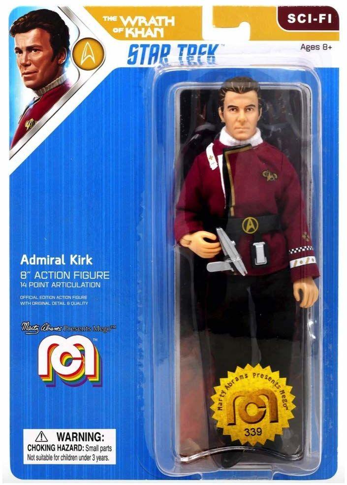 Bizak 64032872 - Mego - Star Trek Kirk, 20 cm