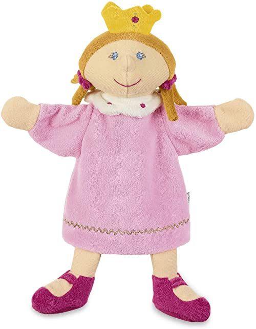 Sterntaler 3622053 lalka księżniczka, idealna do teatru dla lalek i odgrywania ról, 26 x 21 x 7 cm, wielokolorowa