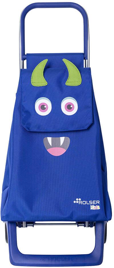 Wózek na zakupy dziecięcy Rolser Monster Kid MF - azul