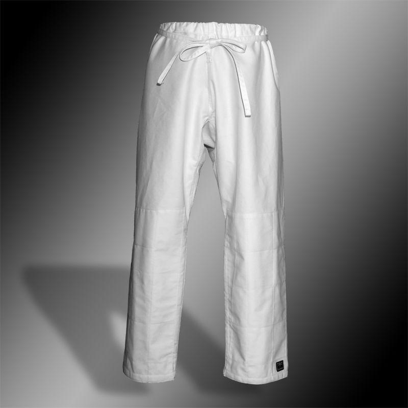 spodnie do aikido TONBO - CLASSIC, białe, 14oz