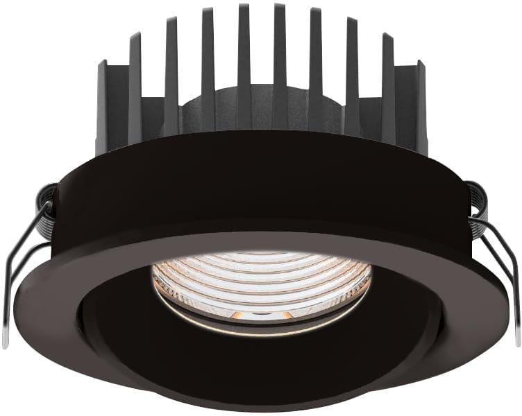 Oczko stropowe CYKLOP H0095 IP65 MAXlight okrągła oprawa wpuszczana w kolorze czarnym