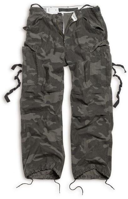 Surplus Spodnie M65 Vintage Black Camo