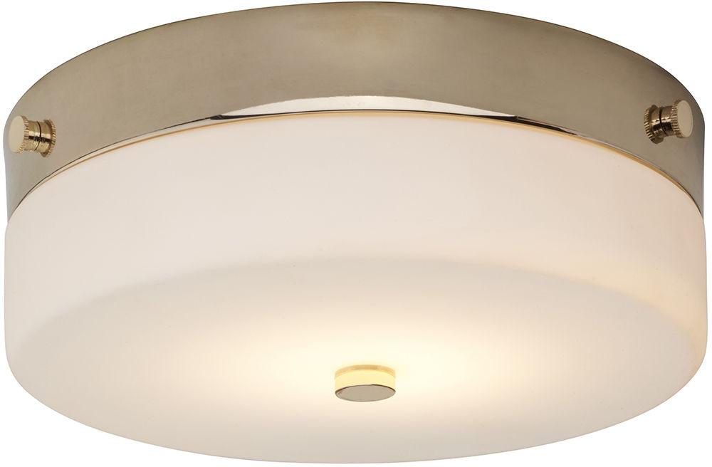 Tamar plafon 1 punktowy złoty 23 TAMAR-F-M-PG - Elstead Lighting // Rabaty w koszyku i darmowa dostawa od 299zł !