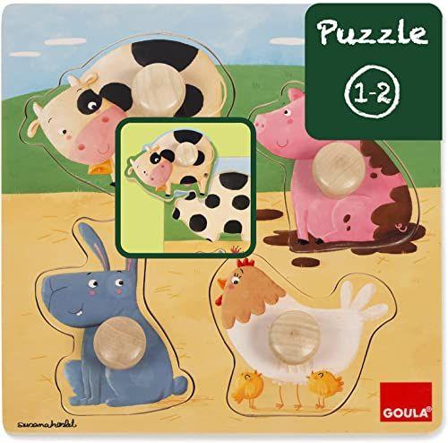 Goula D53069 - drewniane puzzle gospodarstw rolnych
