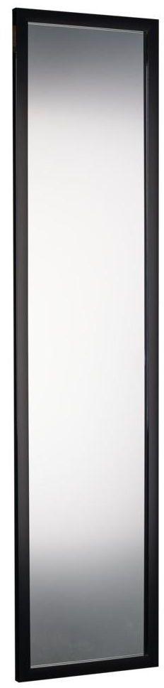 Lustro na drzwi Door czarne 30 x 120 cm Inspire