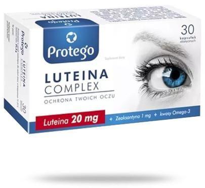 Protego Luteina Complex ochrona twoich oczu 30 kapsułek