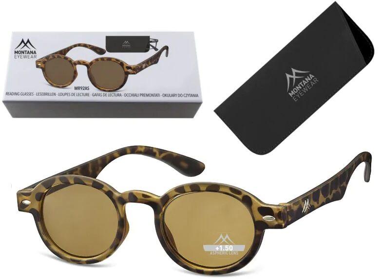Przyciemniane Asferyczne Okulary do czytania Lenonki Montana MR92AS moc: +3.5