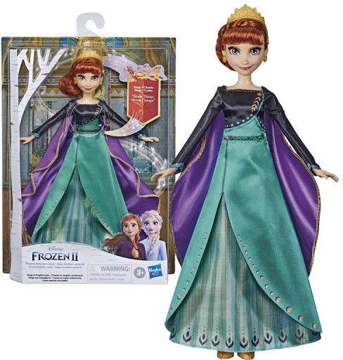 Hasbro Disney Frozen 2 - Muzyczna przygoda Śpiewająca Anna PL E8881