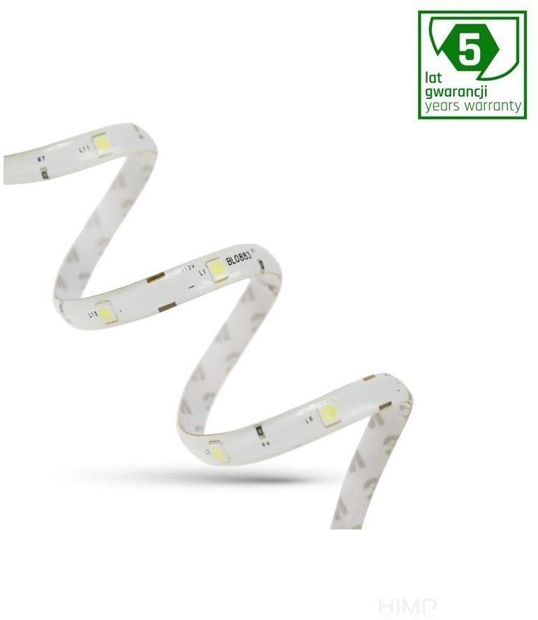 PASEK LED 24W 5050 30LED CW 5 lat 1m (rolka 5m) -bez osłony &