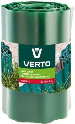 Obrzeże do trawników VERTO 15G512 Zielony (20 cm x 9 m)