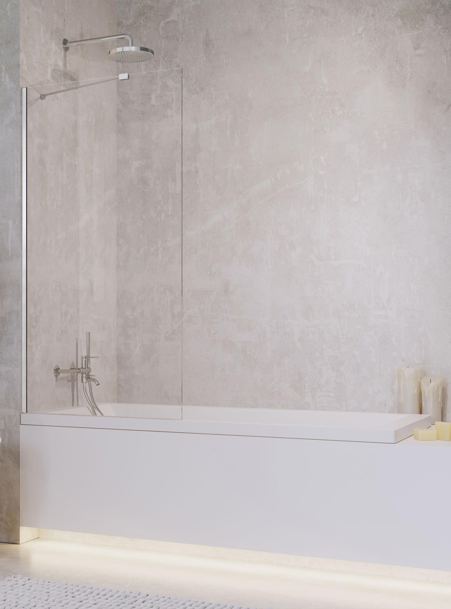 Radaway parawan nawannowy Idea PNJ 50 cm, szkło przejrzyste, wys. 150 cm 10001050-01-01