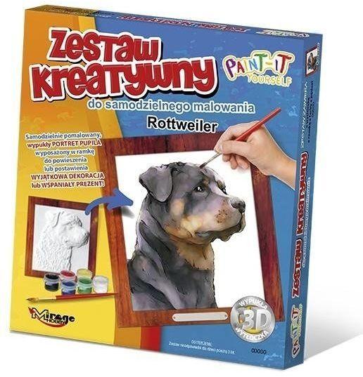 Zestaw Kreatywny do malowania - Rottweiler - Mirage Hobby