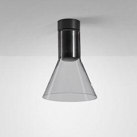 Plafon Modern Glass Flared E27 SP 40447 Aqform