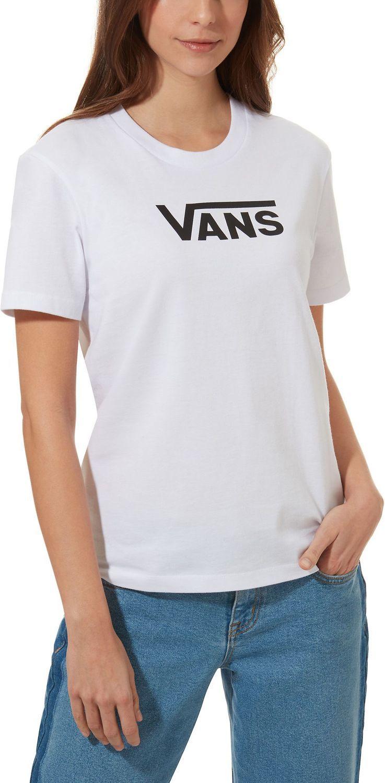 t-shirt damski VANS FLYING V CLASSIC White