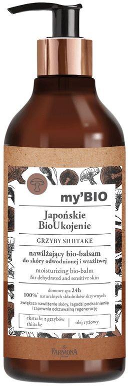 my BIO Japońskie BioUkojenie GRZYBY SHIITAKE nawilżający bio-balsam do skóry odwodnionej i wrażliwej 400 ml