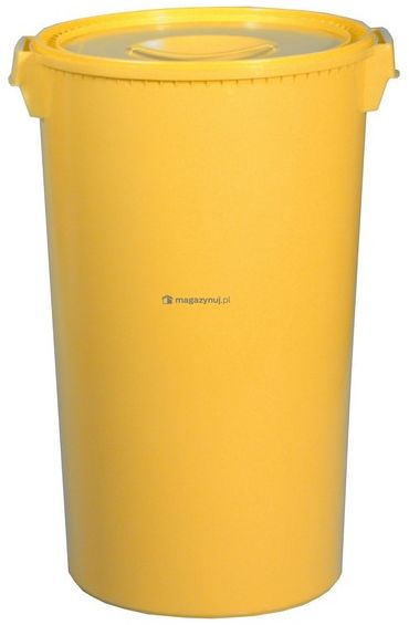 Pojemnik zbiorczy na odpady medyczne 60l (Kolor żółty)