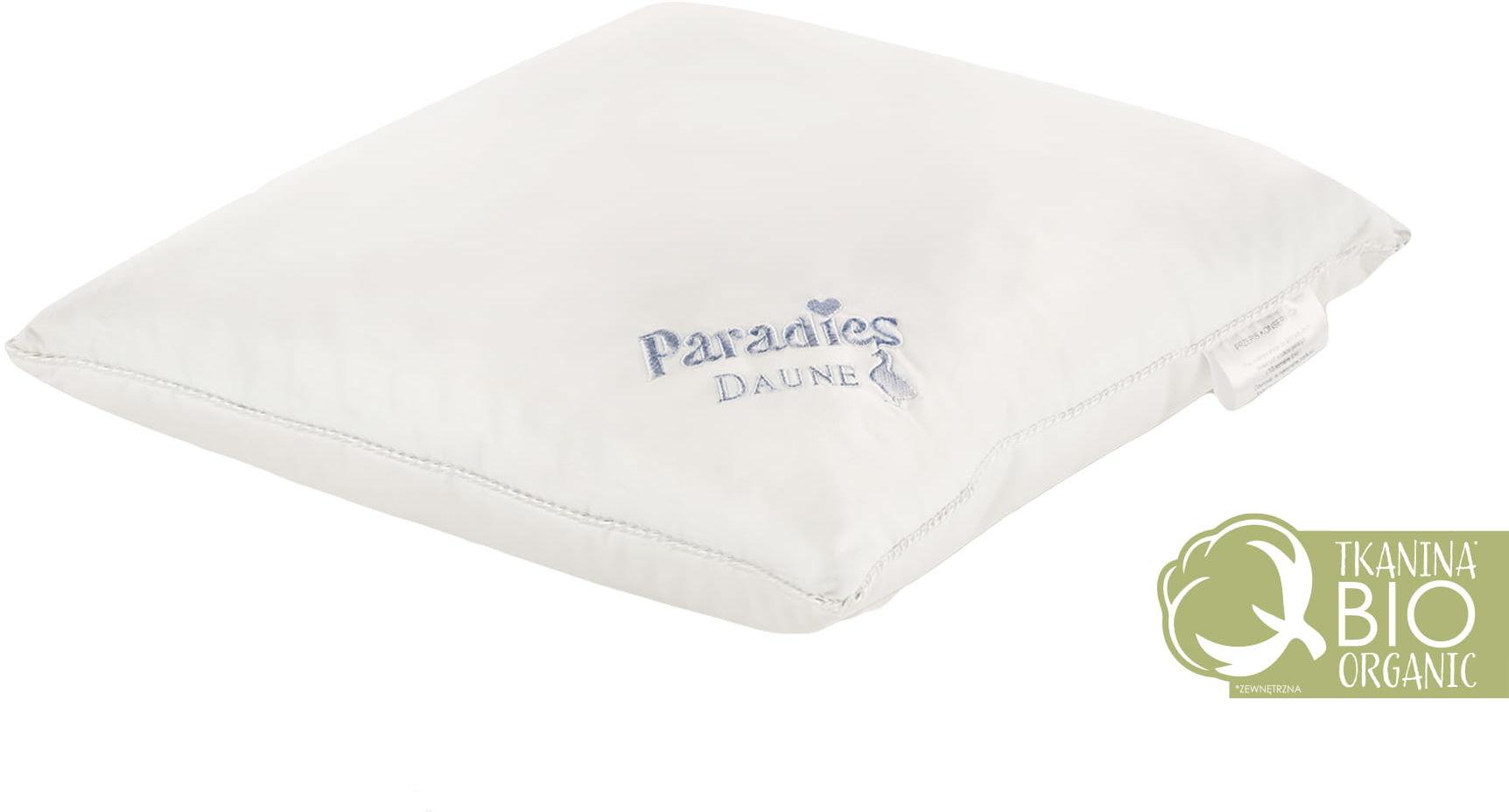 Poduszka Puchowa 40x40 Paradies Crystal Plus Organic