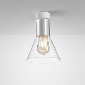Plafon Modern Glass Flared E27 TP 40405 Aqform