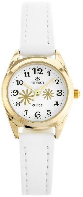 ZEGAREK DZIECIĘCY PERFECT G195 - white/gold (zp914b)