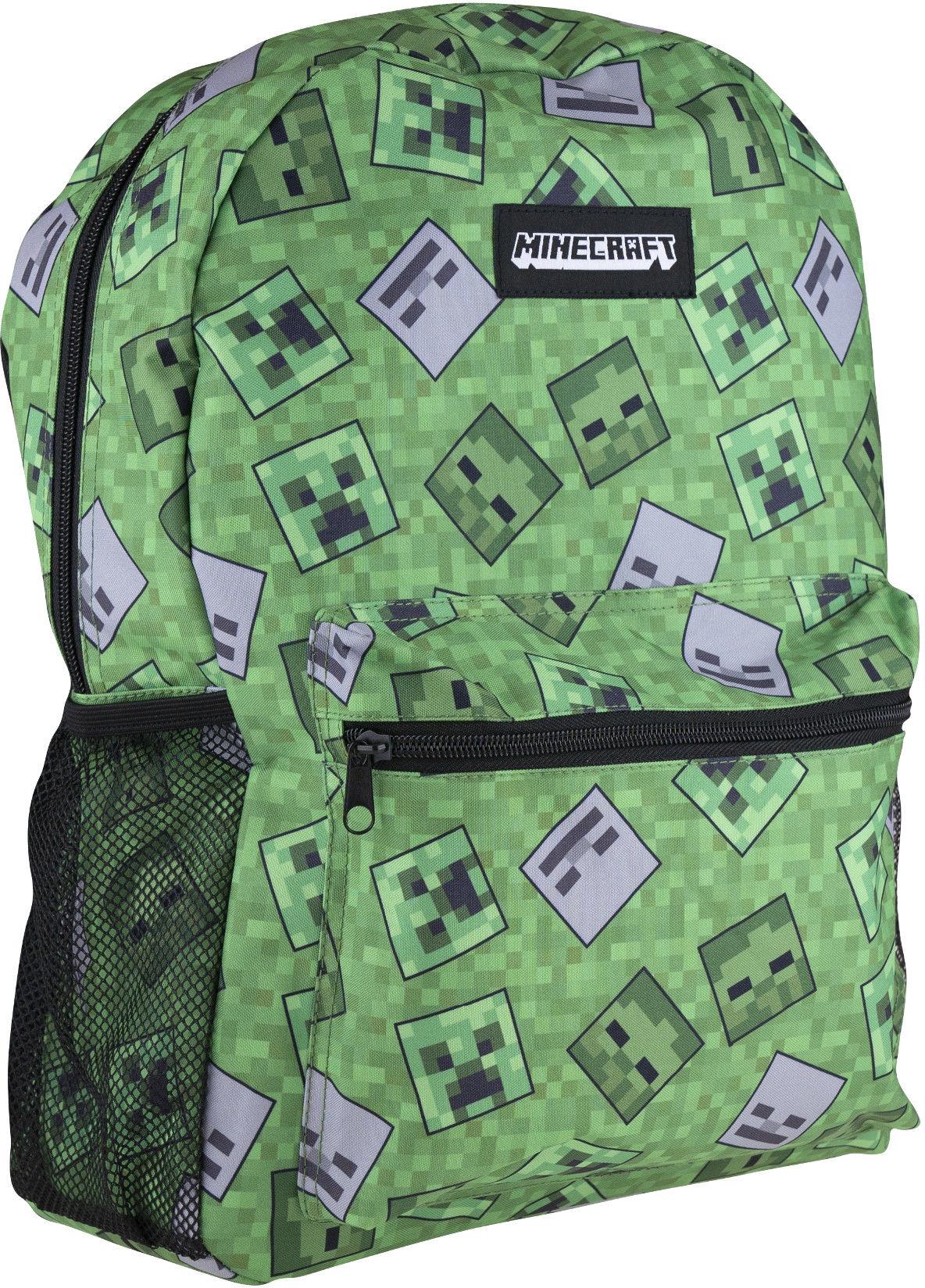 Plecak + piórnik + bidon + śniadaniówka Minecraft 512020001