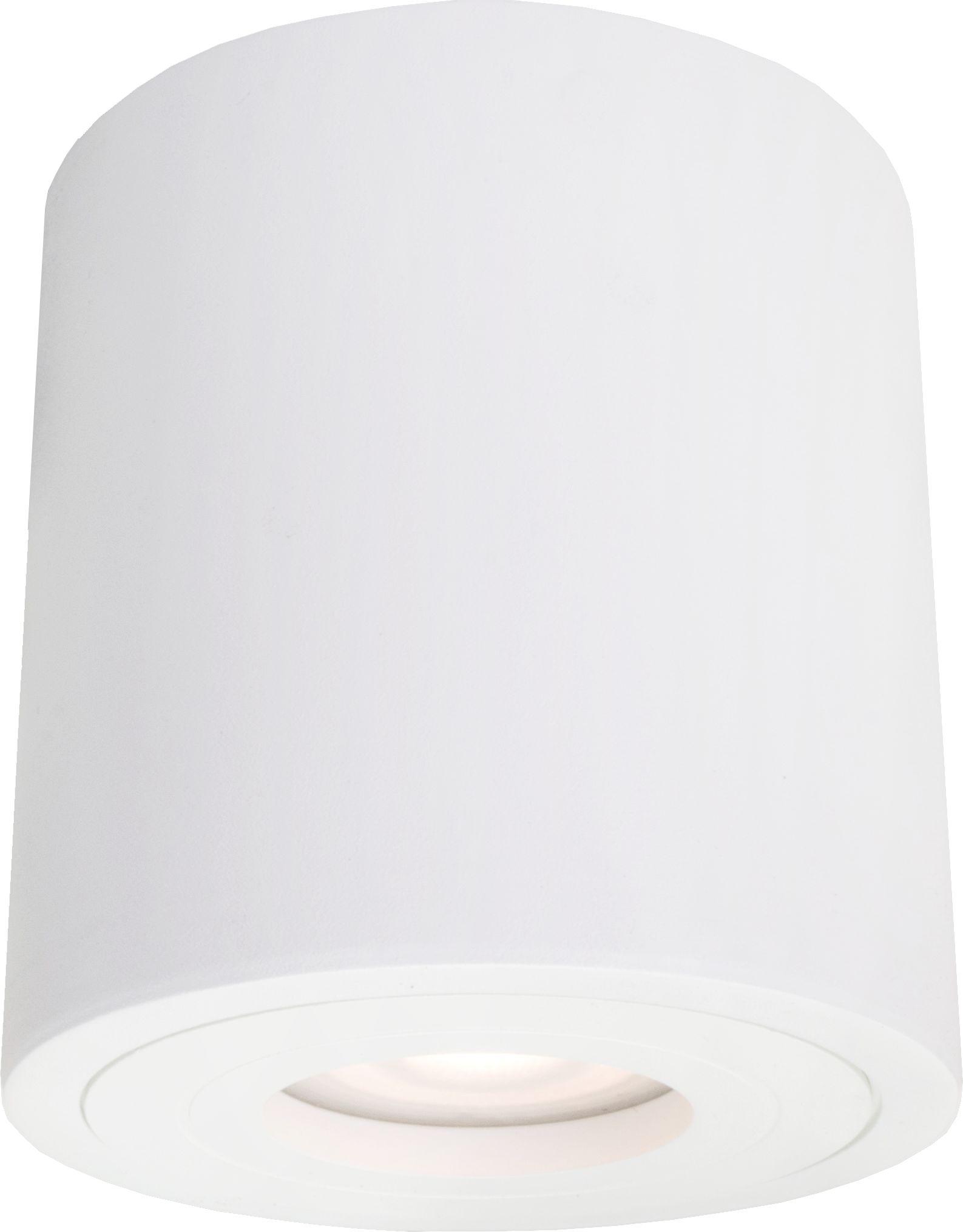 Light Prestige Faro LP-6510/1SM XL IP65 WH oprawa stropowa natynkowa metalowa biała 1x50W GU10 IP65 9,5cm