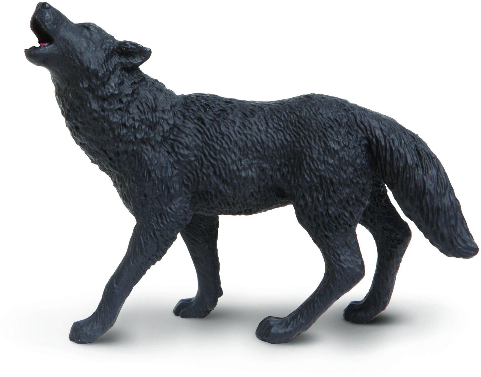 "Safari s181129 ""Wild Safari North American Wildlife czarny Wolf"" miniatura"
