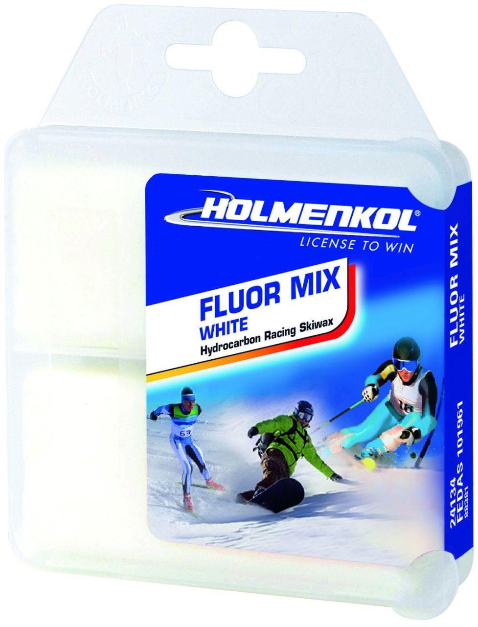 Smar Holmenkol Fluor Mix White 2x35g LF