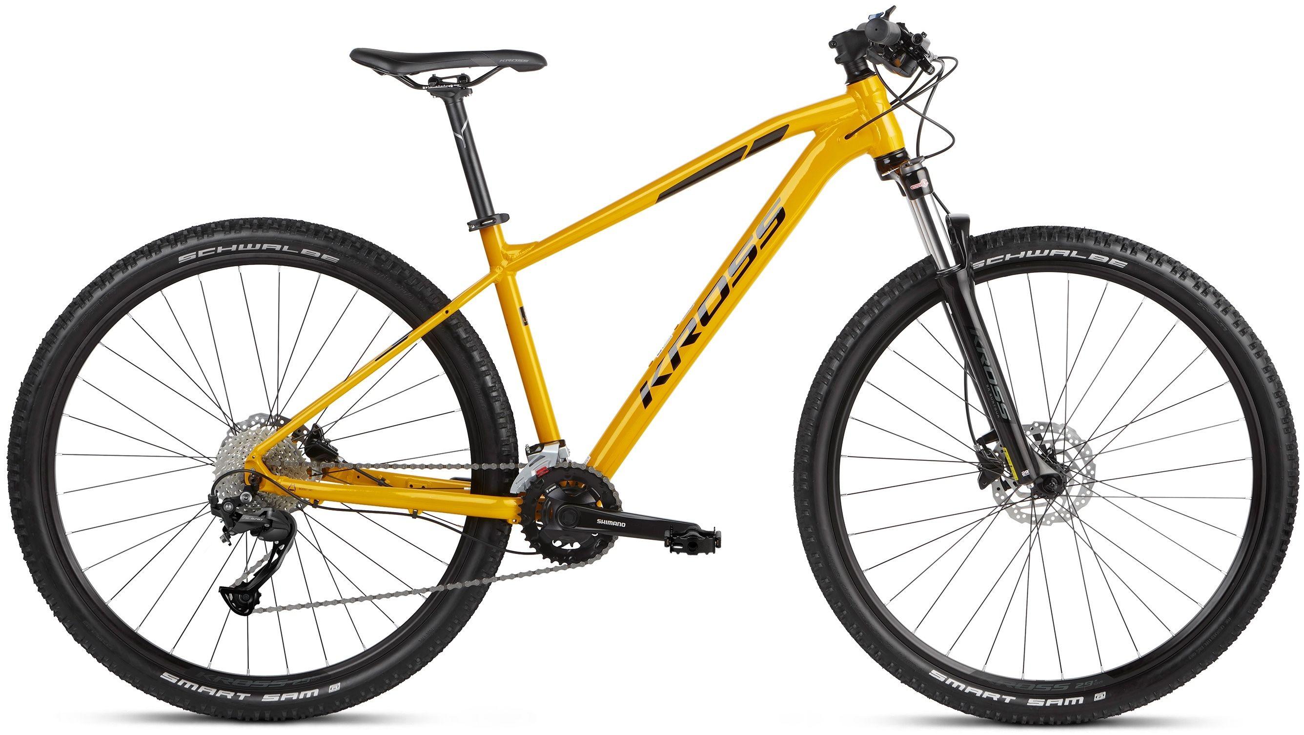 "Rower Kross LEVEL 2.0 SR 21 żółty 29"" 2021"