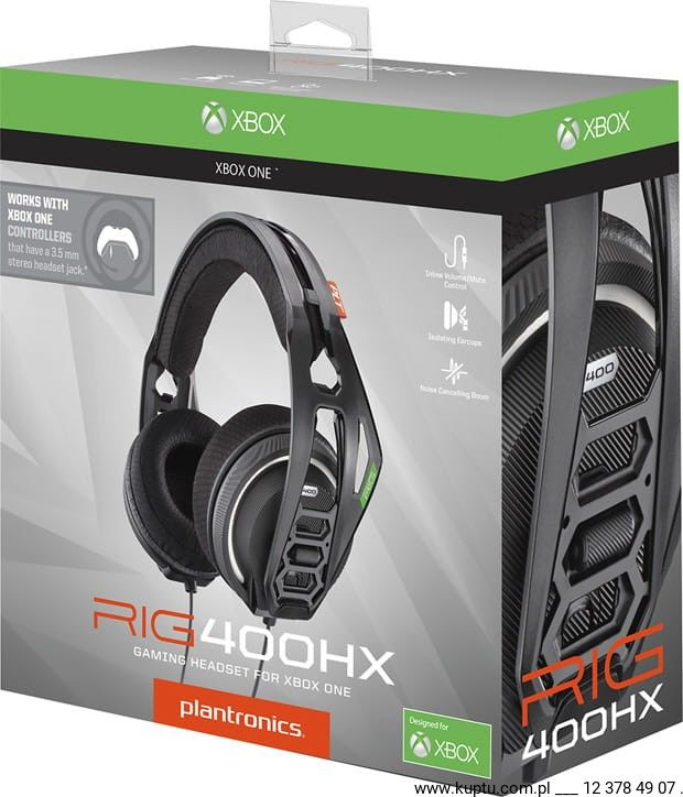 RIG 400HX słuchawki do konsoli Xbox (206807-05)