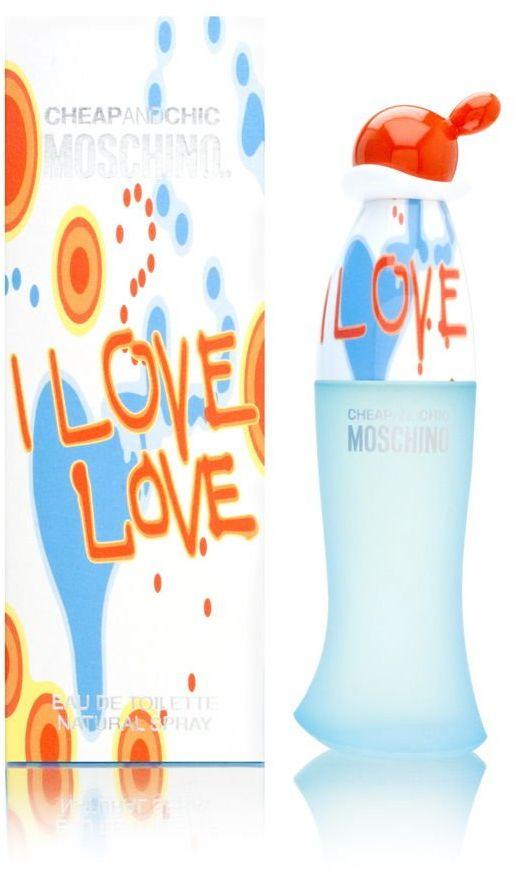 Moschino I Love femme / woman, Eau de Toilette, woda toaletowa w sprayu 50 ml, 1 opakowanie (1 x 50 ml)
