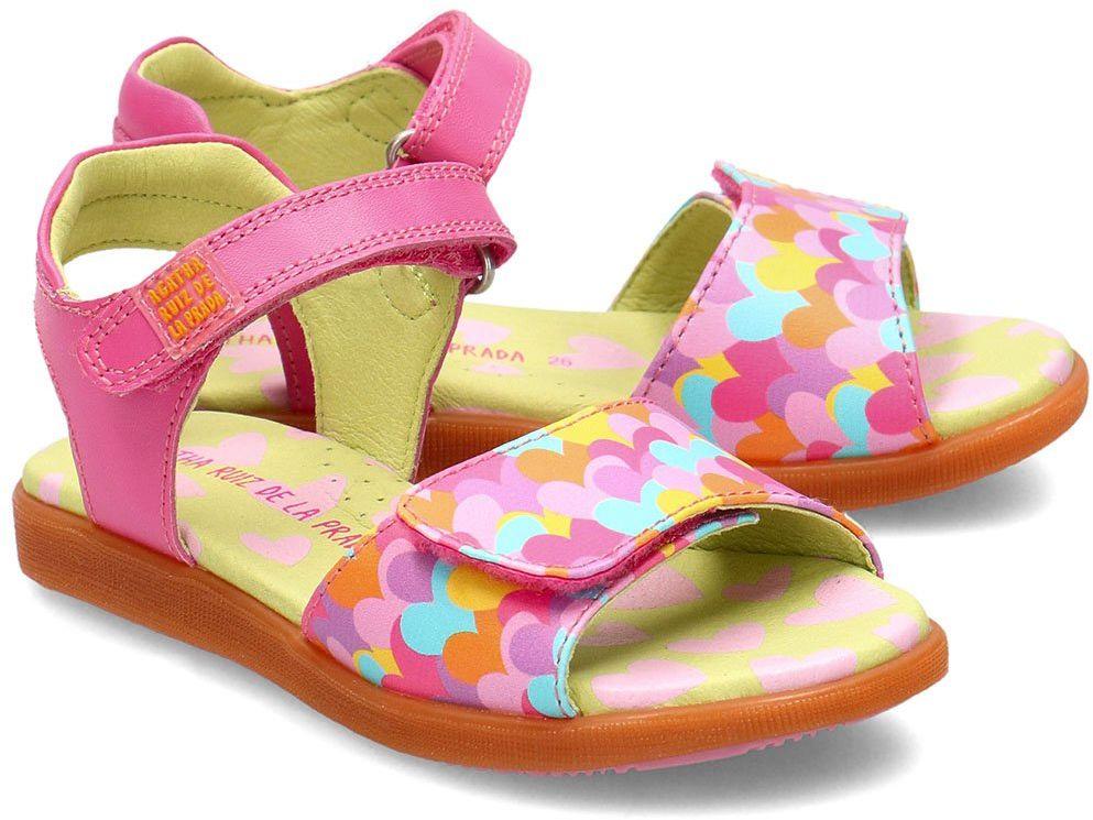 Agatha - Sandały Dziecięce - 202943 A-ROSY Y CORAZONES - Różowy