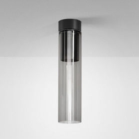 Plafon Modern Glass Tube SP GU10 40401 Aqform