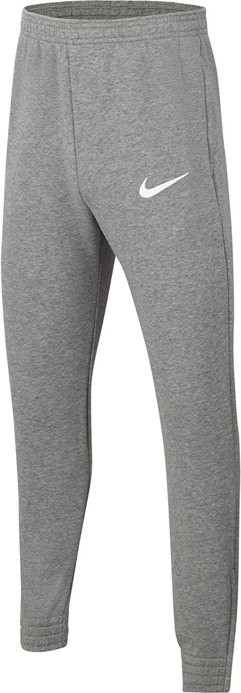 Nike Spodnie dresowe dla chłopców Park 20 Wrzosowy węgiel, biały/biały M