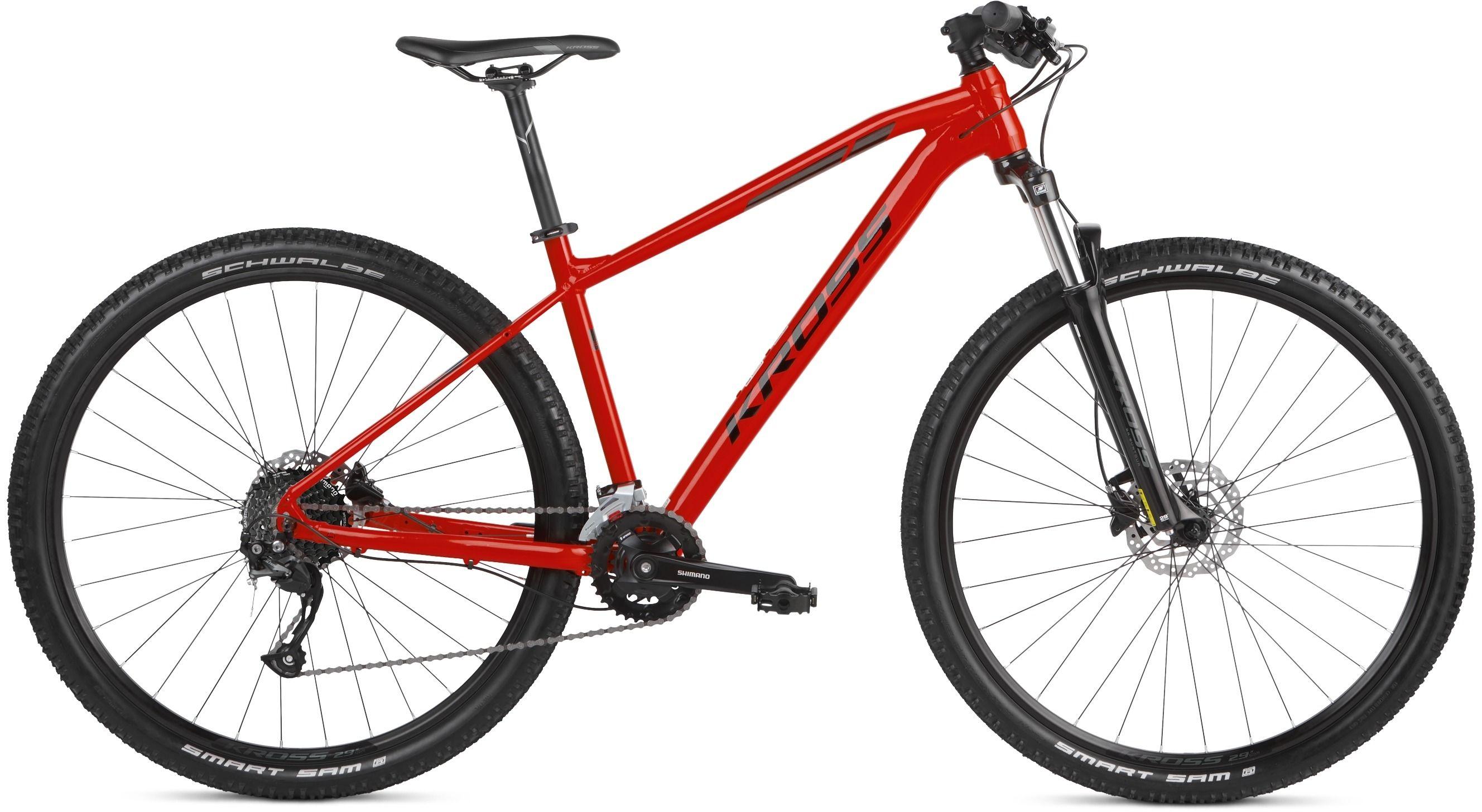 "Rower Kross LEVEL 1.0 SR 21 czerwony 29"" 2021"