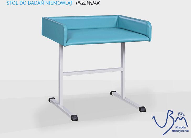Stół do badań niemowląt ( przewijak )