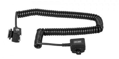 Kabel synchronizacyjny iTTL MeiKe SC-28 Nikon 1,5m