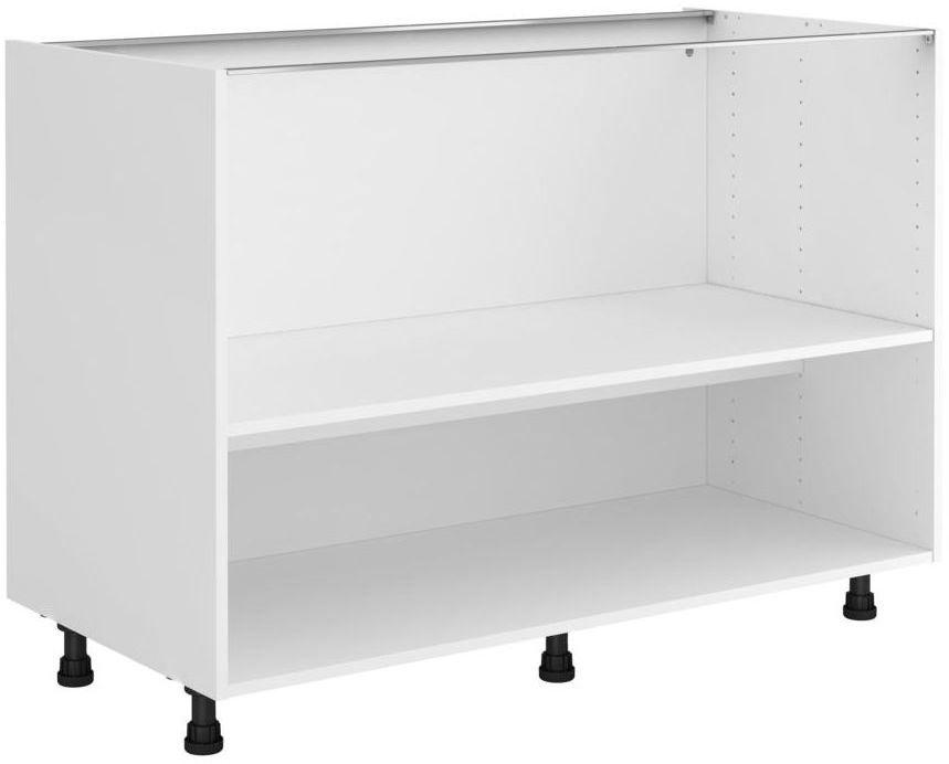 Korpus szafki kuchennej B120 biały Delinia iD