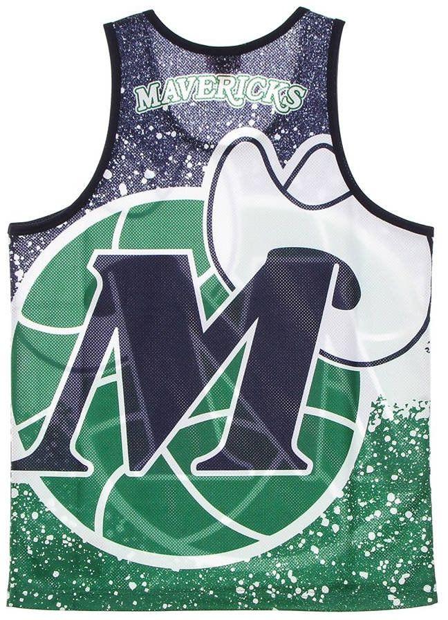 Koszulka bezrękawnik Mitchell & Ness NBA Dallas Mavericks Tank Top