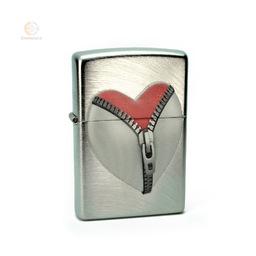 Zapalniczka Zippo Heart Zipper z Twoim grawerem