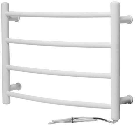 Grzejnik elektryczny perugia 600x420 biały (elektryczny suchy, suszarka łazienkowa)