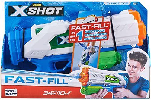 Zuru 25282 Water Warfare Fast-Fill pistolet na wodę, niebieski