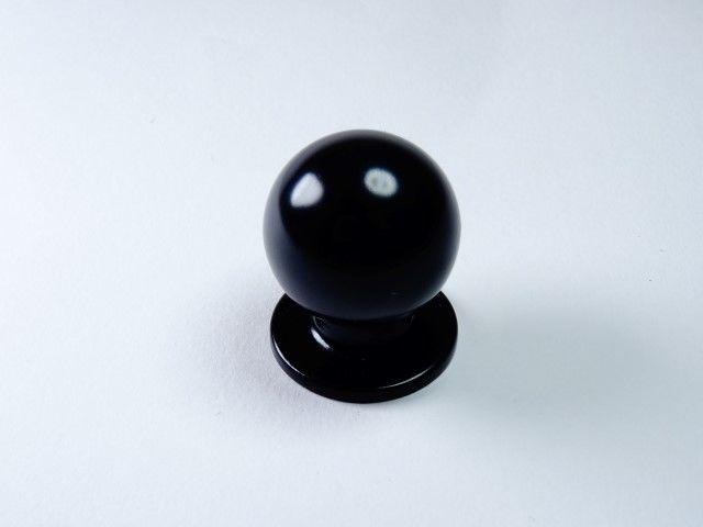 gałka meblowa GN32 czarna, gamet