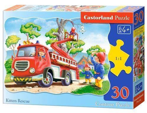 Puzzle 30 Strażacy B-03358 - CASTOR