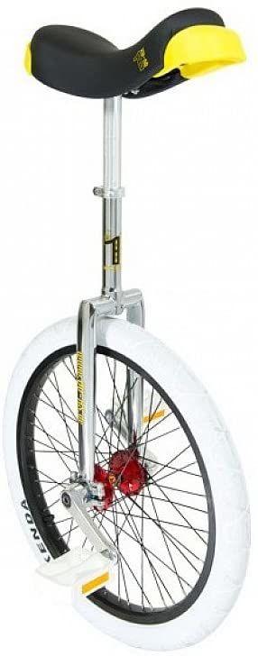 QU-AX Uniseks  profesjonalny rower dla dorosłych, chrom, One Size
