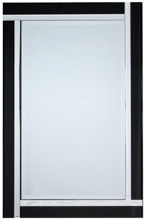 Lustro ścienne w ozdobnej ramie 80x120