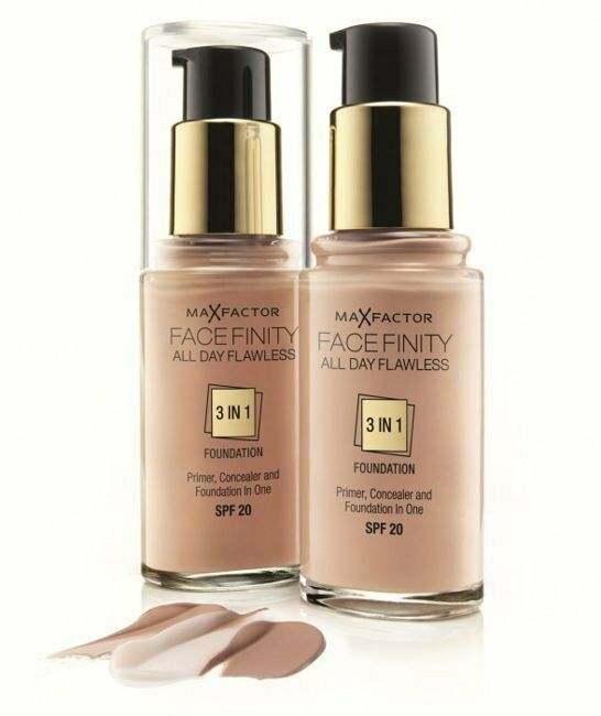 Max Factor Facefinity All Day Flawless 3w1 Podkład 30 Porcelain 30ml