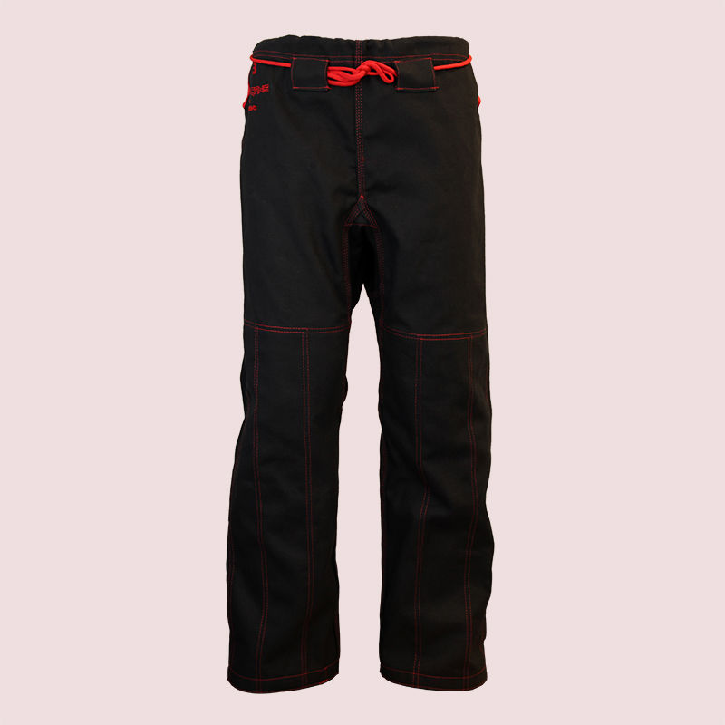 spodnie do BJJ / ju-jitsu HURRICANE, czarne, 14oz (9 rozmiarów)