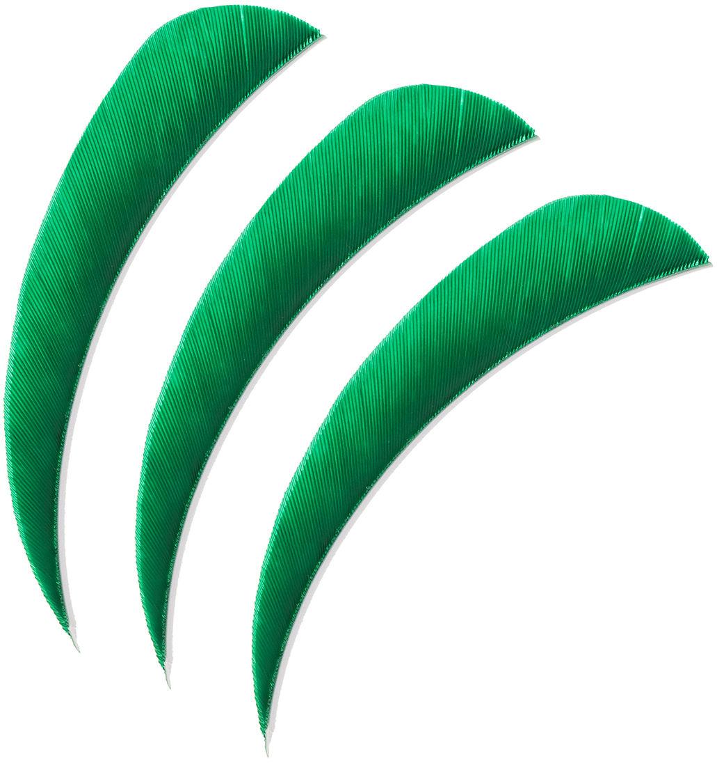 "Lotki Poe Lang 4"" zielone - 3 szt. (B30061B-F)"