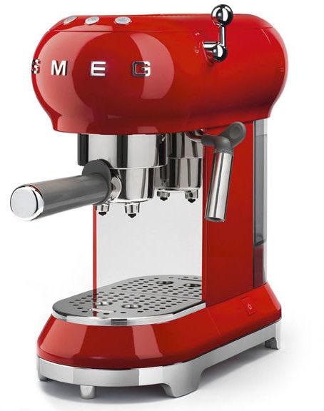 Smeg - Ekspres do kawy 50''s Retro Style ECF01RDEU Czerwony - -5% Z KODEM SMEG