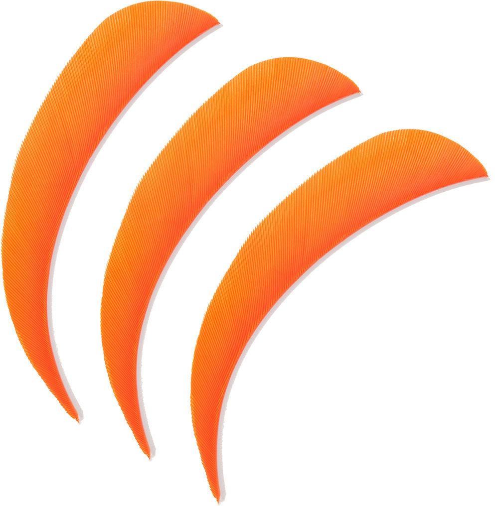 "Lotki Poe Lang 4"" pomarańczowe - 3 szt. (B30061B-D)"